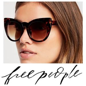 Free People cat eye sunglasses